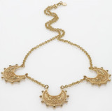 Byzantine 3-Crescent Necklace - Museum Shop Collection - Museum Company Photo