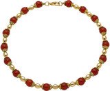 Carnelian necklace - Museum Shop Collection - Museum Company Photo