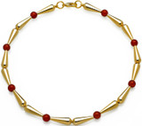 Egyptian necklace with Carnelian beads - Museum Shop Collection - Museum Company Photo