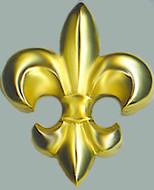 Fleur-de-Lys paperweight - Museum Shop Collection - Museum Company Photo