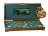Genuine 20 Coins from 20 Centuries Box: A Retrospective Collection : Authentic Artifact - Museum Company Photo