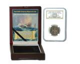 Genuine Admiral Gardner Shipwreck Treasure Coin NGC Certified Slab Box (Medium grade) : Authentic Artifact - Museum Company Photo