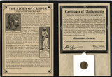 Genuine Constantine's Secret Son: Crispus Album  : Authentic Artifact - Museum Company Photo