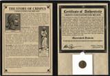 Genuine Constantine's Secret Son: Crispus Album : Authentic Artifact - Museum Company Photo