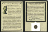 Genuine Father of Christmas: Roman Coin Album : Authentic Artifact - Museum Company Photo