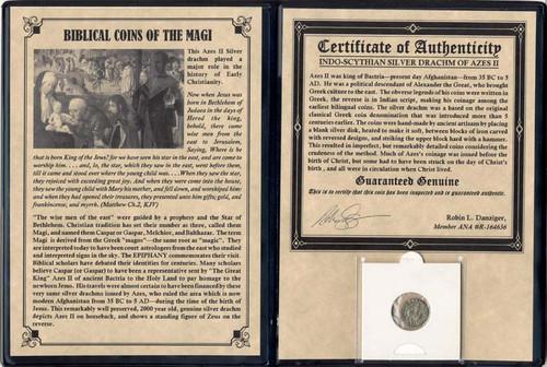 Genuine Journey of the Magi Album: Silver Drachm : Authentic Artifact - Museum Company Photo