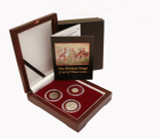Genuine Journey of the Magi: 3 Coins from the Biblical Holy Land Box  : Authentic Artifact - Museum Company Photo
