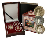 Genuine Mystery of the Book of Revelation Box, 3 Silver Roman Coins  : Authentic Artifact - Museum Company Photo