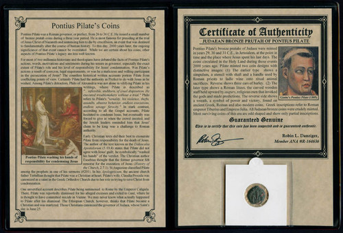 Genuine Pontius Pilate Album : Authentic Artifact - Museum Company Photo