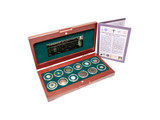 Genuine Religions Of The Ancient World: Box of 12 Ancient Coins : Authentic Artifact - Museum Company Photo