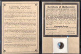 Genuine Soter Mega Coin Album  : Authentic Artifact - Museum Company Photo