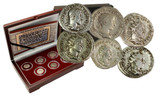 Genuine The Age of Chaos: Box of 6 Roman Coins from the Crisis of Third Century  : Authentic Artifact - Museum Company Photo