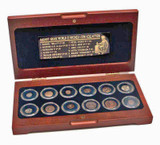 Genuine The Greek World: Box of 12 Bronze Coins from the Time of Ancient Greece  : Authentic Artifact - Museum Company Photo