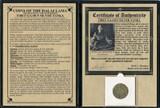 Genuine Tibet Silver Tanka Album : Authentic Artifact - Museum Company Photo