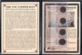 Genuine VOC Dutch East Indies Co. Copper Duits Album : Authentic Artifact - Museum Company Photo