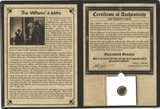 Genuine Widow's Mite Bronze Lepton Album : Authentic Artifact - Museum Company Photo