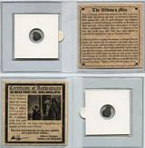 Genuine Widow's Mite Bronze Lepton Coin Mini : Authentic Artifact - Museum Company Photo