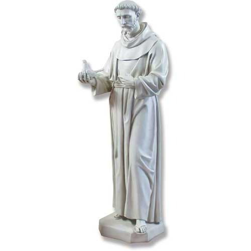 Saint Francis with Dove Statue - Museum Replicas Collection Photo