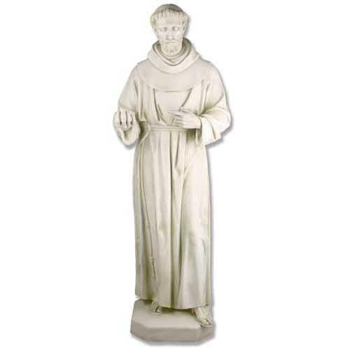 Saint Francis Life Size Statue - Museum Replicas Collection Photo