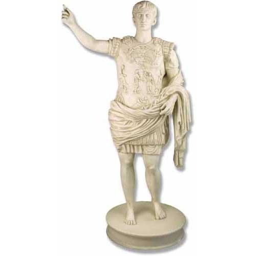 Augustus Caesar Of Primaporta Sculpture - Museum Replica Collection Photo