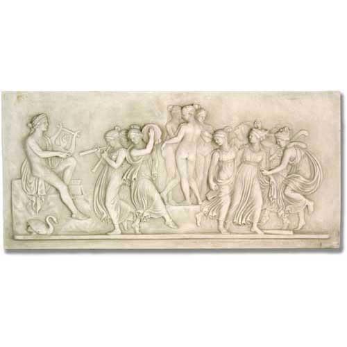Apollo & Muse Wall Relief - Museum Replica Collection Photo