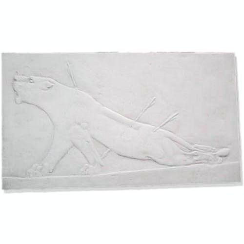 Assyrian Dying Lioness Wall Relief - Museum Replicas Collection Photo