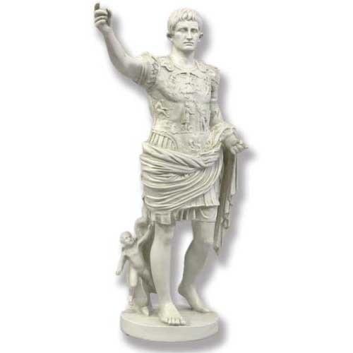 Augustus Caesar Statue - Museum Replica Collection Photo