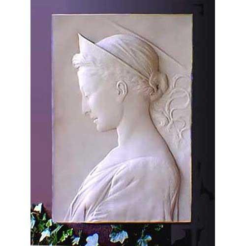 Saint Cecilia Plaque - Museum Replicas Collection Photo