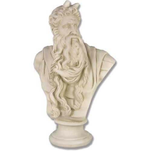 Moses By Michlangelo Bust - Museum Replica Collection Photo