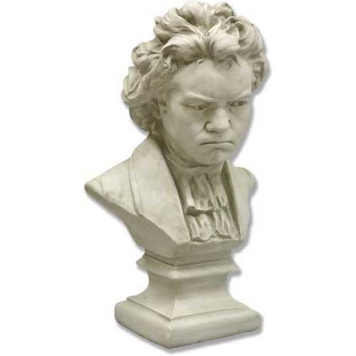 Ludwig van Beethoven Bust with Shirt - Museum Replicas Collection Photo