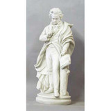 Ludwig van Beethoven Standing Statue - Museum Replicas Collection Photo