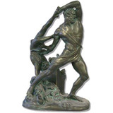 Hercules and Wrestlers Sculpture - Museum Replicas Collection Photo