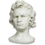 Ludwig Van Beethoven Life Mask - Museum Replicas Collection Photo