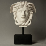 Medusa Head On Base - Museum Replica Collection Photo