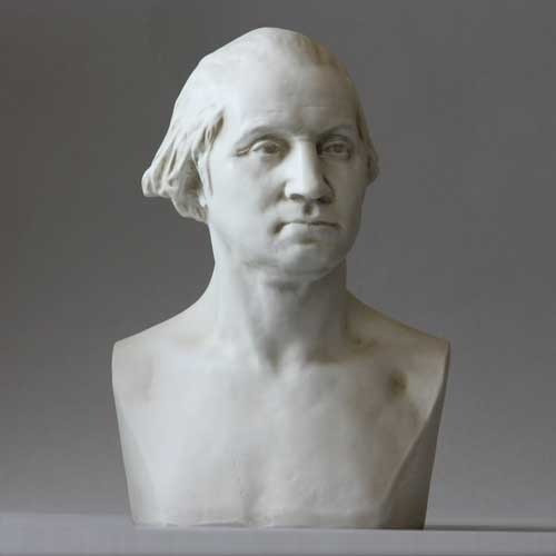 George Washington By Houdon Bust - Museum Replica Collection Photo