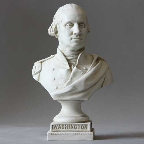 George Washington From Capital Bust - Museum Replica Collection Photo
