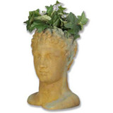 Hermes Head Planter - Museum Replica Collection Photo