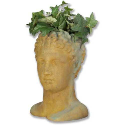 Hermes Head Planter - Museum Replica Collection Photo