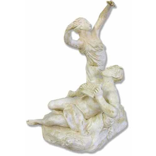 Dancer With Pan Sculpture - Museum Replica Collection Photo