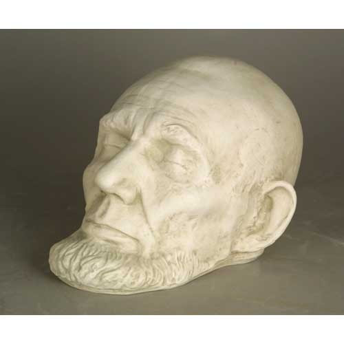 Abraham Lincoln Life Mask with Beard - Museum Replica Collection Photo