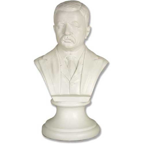 Theodore Roosevelt Bust - Museum Replica Collection Photo