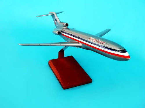 American 727-200 1/100  - American Airlines (USA) - Museum Company Photo