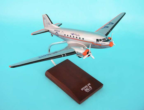 American DC-3 1/72  - American Airlines (USA) - Museum Company Photo
