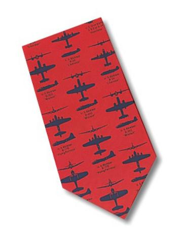 Museum Designs Bombers Necktie : Ties, Neckware & Historic Appearal - Photo Museum Store Company