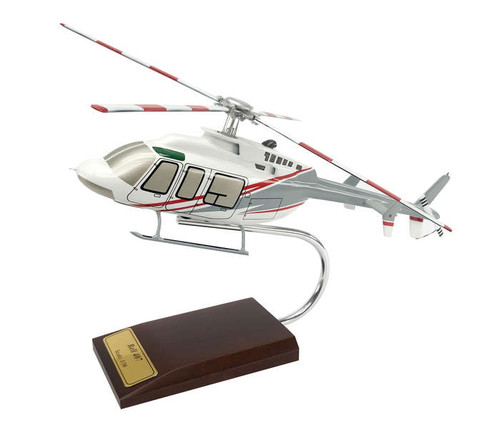Bell 407 1/30 Helicopter - Museum Company Photo