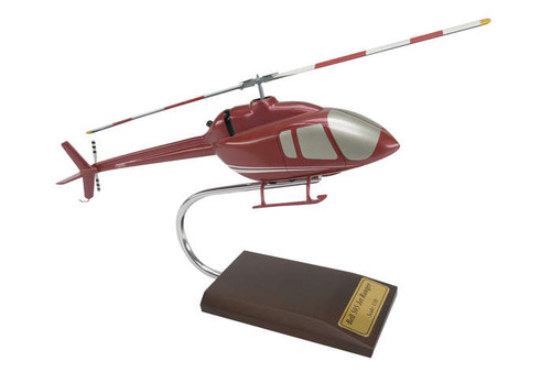 Bell 505 Jet Ranger X 1/30 Helicopter - Museum Company Photo