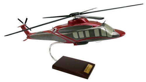 Bell 525 Relentless 1/30 Helicopter - Museum Company Photo
