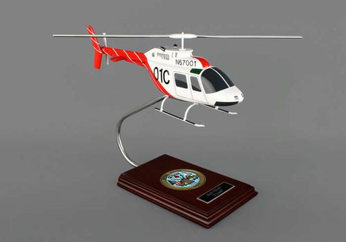 Bell TH-67 US Army 1/32 Creek  - US ARMY AIRCRAFT (USA) - Museum Company Photo