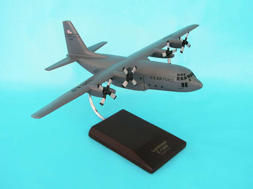 C-130h Hercules Grey 1/100  - United States Air Force (USA) - Museum Company Photo