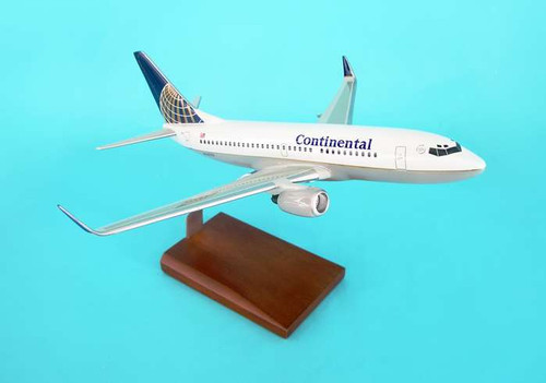 Continental 737-700 1/100 W/Winglets  - Continental Airlines (USA) - Museum Company Photo